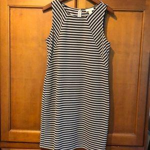 Loft Striped Sheath Dress